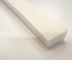 Rectangle profile extruded silicone